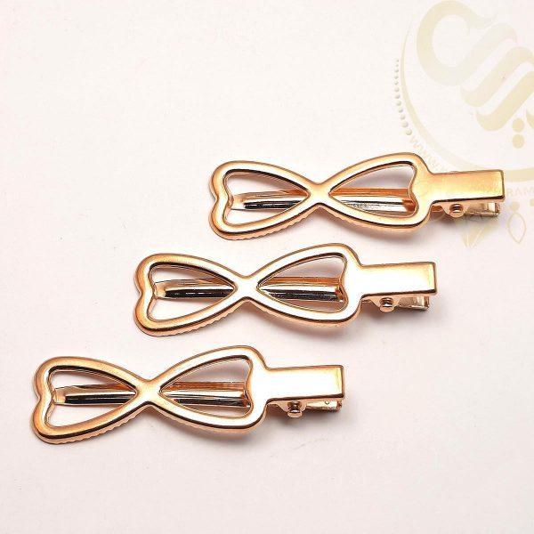 گیره مو پاپیونی Bow tie hair clip